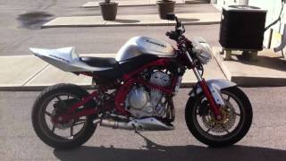 Ninja 650R Streetfighter walkaround