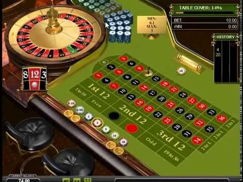 Игровой автомат European Roulette Playtech