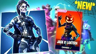 THE *NEW* HALLOWEEN SKINS, GLIDERS, PICKAXES AND MORE! (Fortnite: Battle Royale)