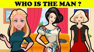 Who is the man ? | Tricky riddles with answers, brainteasers,  #Puzzle 14 | Riddle talk