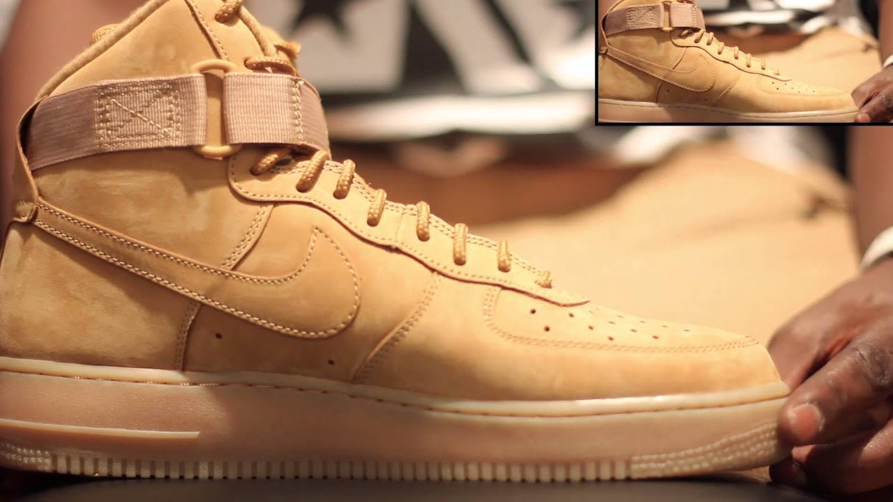 nike air force one flax high