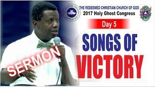 Pastor E.A Adeboye Sermon @ RCCG December 2017 HOLY GHOST SERVICE