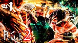 Скачать Attack On Titan 2 Прохождение на русском 1 Прохождение игры Атака Титанов 2 на русском
