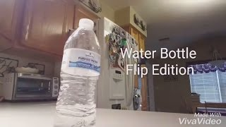 water bottle flip edition l pbj trickshots l inspired by dude perfect