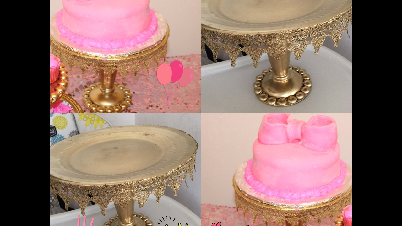 diy wedding cake platform diy dollar tree wedding cake stand 13636