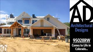 Architectural Designs Mountain House Plan 95028rw Comes To Life In Colorado