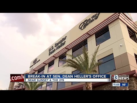 Break-in at Sen. Dean Heller