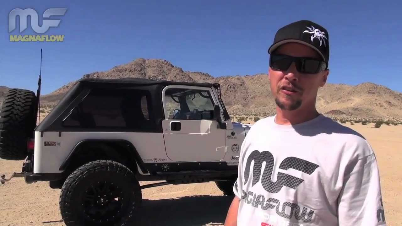 Jeep Wrangler Lj >> 2006 Jeep Wrangler LJ with MagnaFlow Exhaust Competition