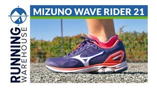 Women's Mizuno Wave Rider 21 Review