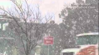 Major snow storm hits Dodge City, Kansas!