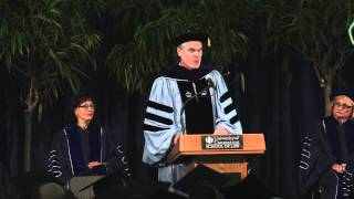 Commencement 2014 - Dean Timothy Fisher