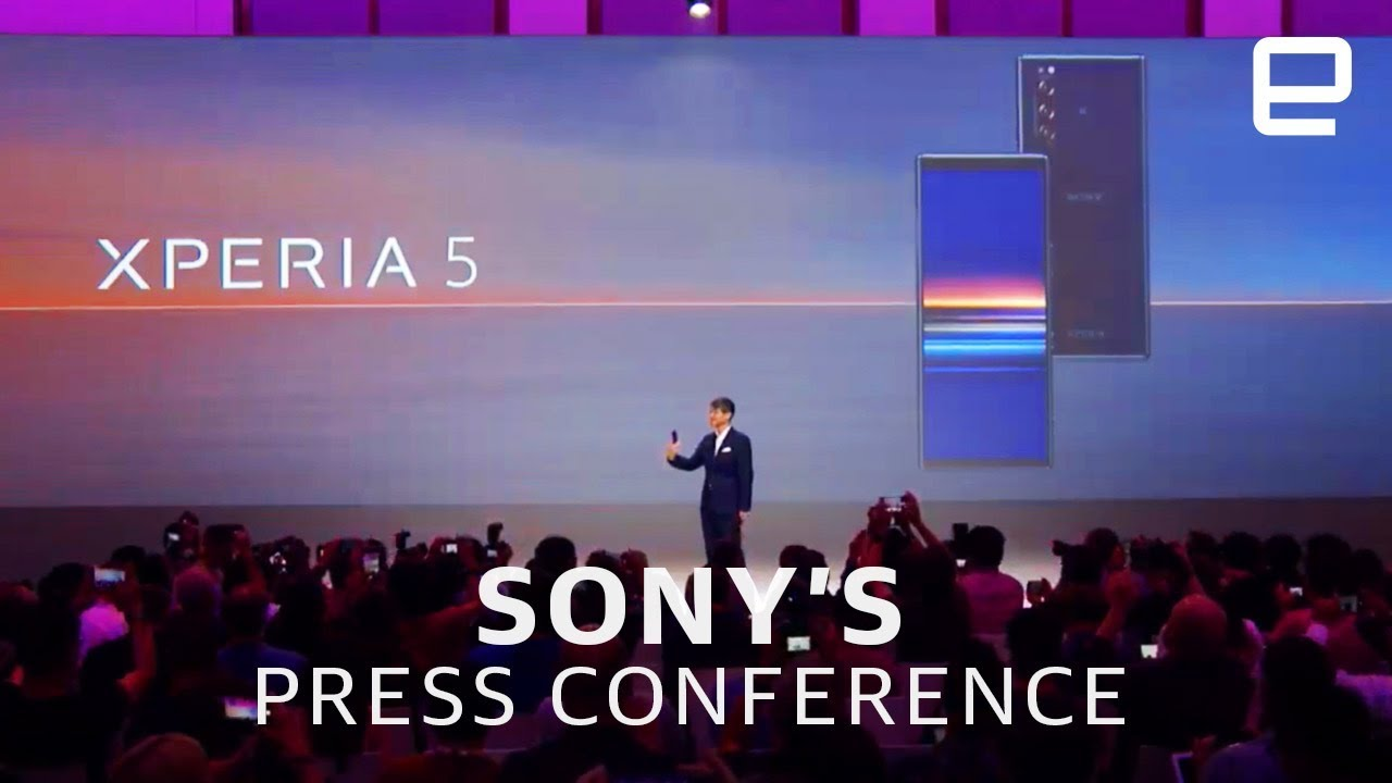 Sony's IFA 2019 press conference in 5 minutes | TheNewsSpace