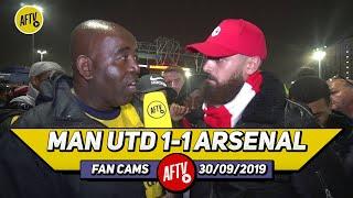 Man United 1-1 Arsenal | Guendouzi Shows Leadership & Saka Was Our Best Attacker! (Turkish)