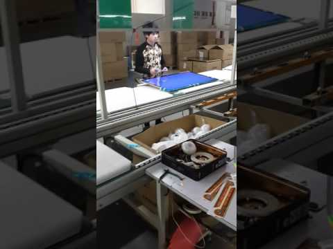 LED Television manufacturing assembly line in China