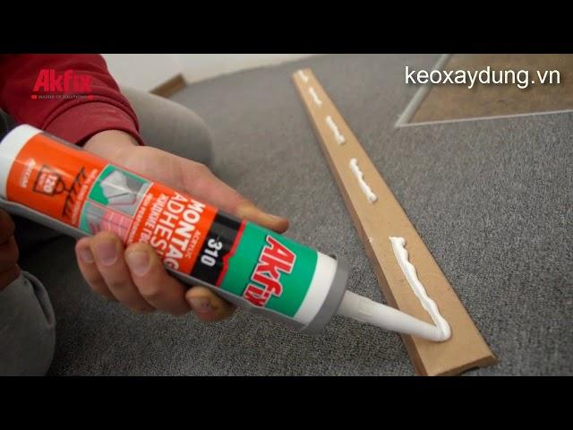 Mẹo đơn giản lắp ráp gỗ ốp chân tường không dùng đinh