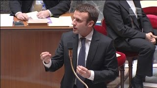 "Macron ""plaide coupable"" de s"
