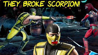 MK Mobile. Klassic Scorpion is BROKEN in Update 2.7. But He is STILL INSANE!
