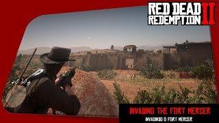 Red Dead Redemption 2 - Invading the Fort Mercer / Invadindo o Fort Mercer
