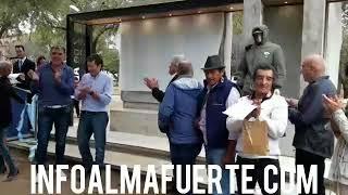 """Inauguración de Monumento """"Héroes de Malvinas"""" - Plaza San Martin, Almafuerte"""