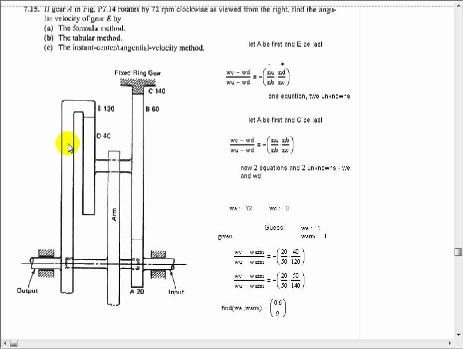 Design Of Spur Gear Calculation Pdf