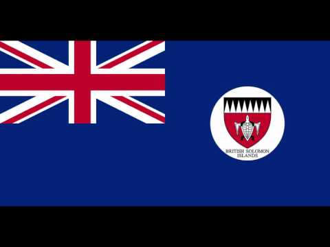 The anthem of the British Protectorate of British Solomon Islands
