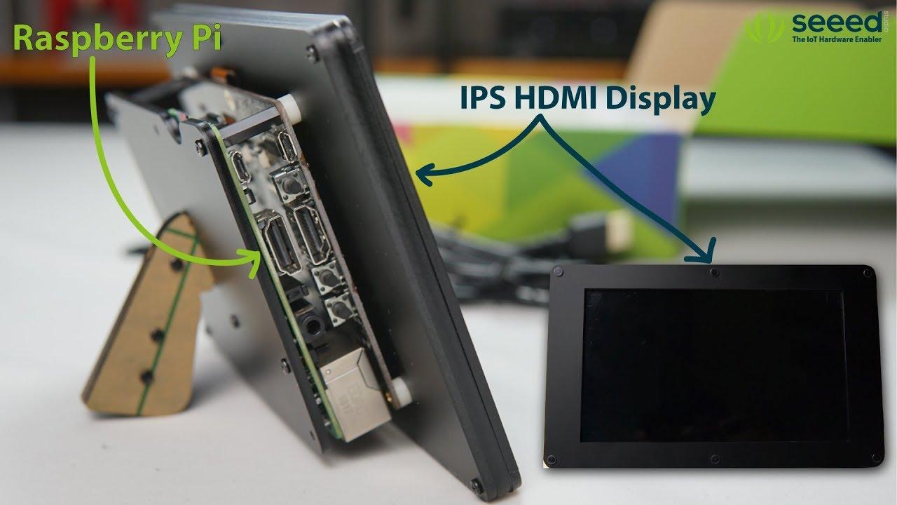 seeed studio Raspberry Pi HDMI LCD 10.1 inch