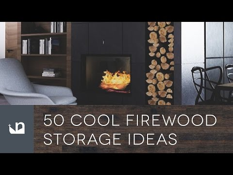 50 Cool Firewood Storage Ideas