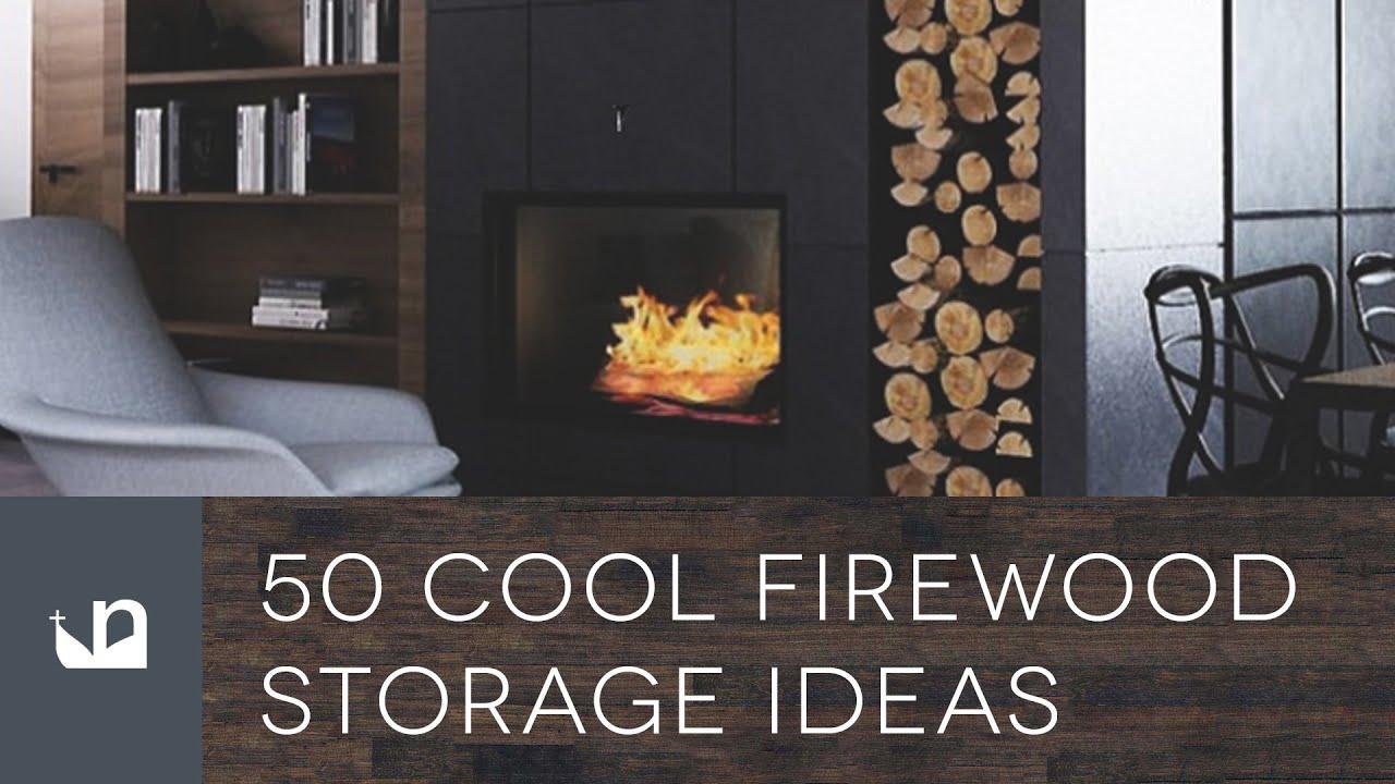 50 Cool Firewood Storage Ideas - YouTube