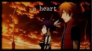 Aquarion Evol - Holding a Heart