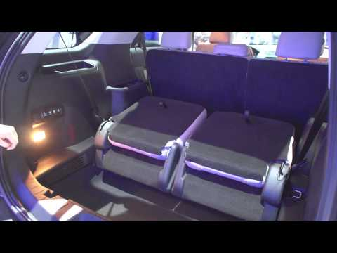 Vehicles With 3rd Row Seating >> 2016 Explorer Fold Flat 3rd Row Demo - YouTube