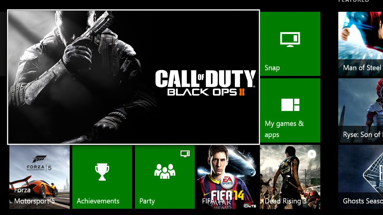 Play Black Ops 2 On The Xbox One - Vote For Your Favorite Games!