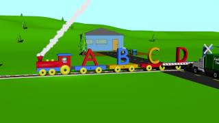 Cover images ABC Alphabet Song Train - Learning for Kids