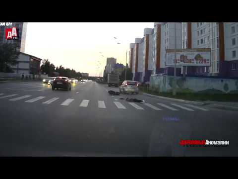 видео: Наезд на двух девушек