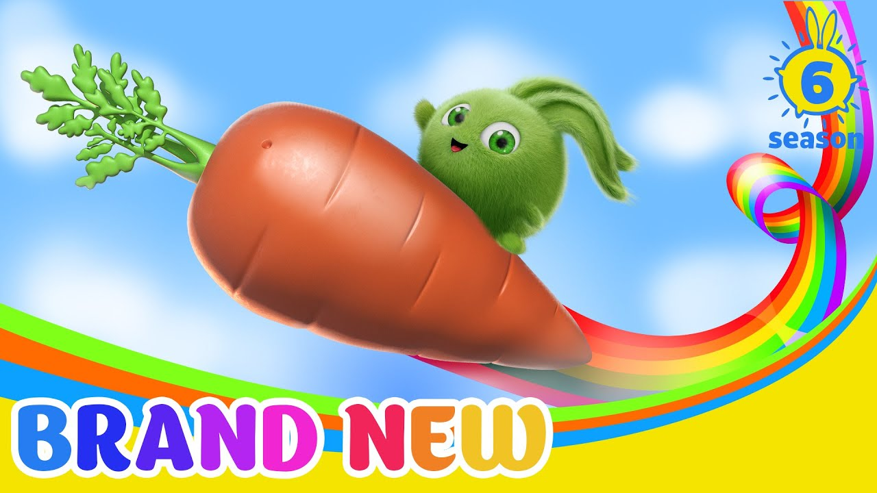 SUNNY BUNNIES - The Tale of the Carrot   BRAND NEW EPISODE   Season 6   Cartoons for Children