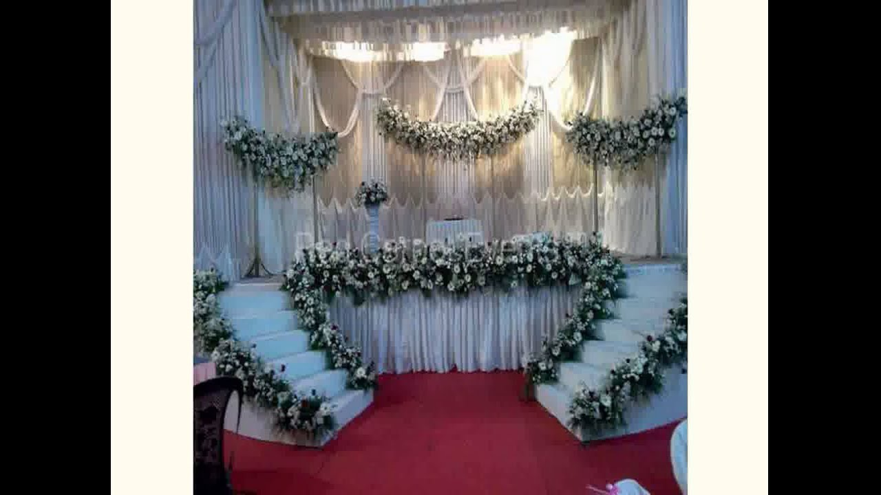 Asian wedding decoration ideas youtube for Asian wedding bed decoration