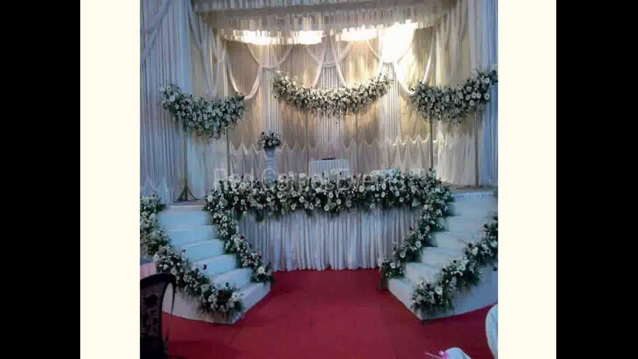 Asian Wedding Decoration Ideas - YouTube