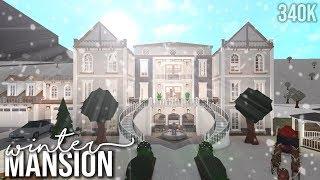 [BLOXBURG] Winter Mansion 340k (Speedbuild)