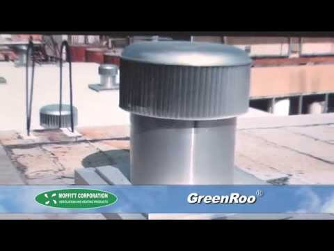 The Superior Wind Driven Turbine, the GreenRoo™