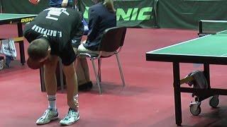Евгений ПЕТРУХИН - Дмитрий БОБРОВ Настольный теннис, Table Tennis