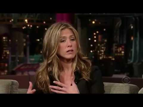 Jennifer Aniston On Late Show