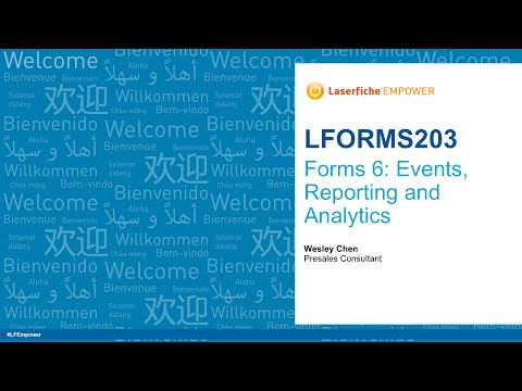 Forms 6: Events, Reporting and Analytics