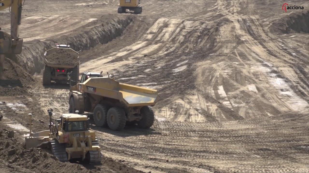 Completamos la cimentación de la futura presa hidroeléctrica Site C | ACCIONA