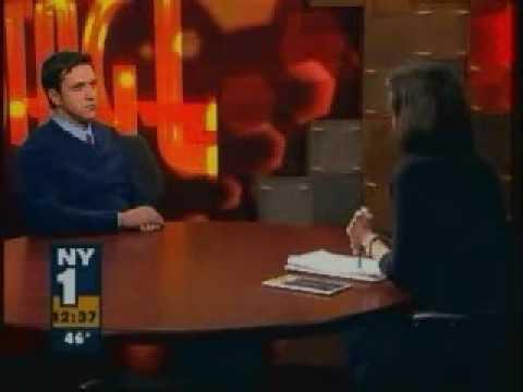 Raúl Esparza interview on NY1 (Company)