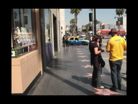 Tough Tourism on Hollywood and Vine