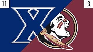 11 Xavier vs. 3 Florida State Prediction   Who's Got Next?