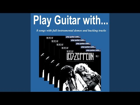 Immigrant Song (Backing Track only without Guitar)