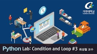 파이썬 강좌 | Python MOOC | Lab -  Condition and Loop #3