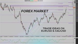 Forex Market - Trade Ideas on EURUSD & XAUUSD