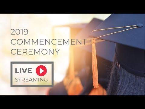 2019 CGCC Commencement Ceremony