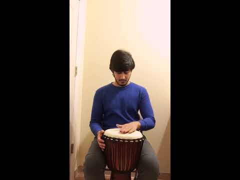 Shape of you Ed Sheeran - Djembe music/instrumental cover